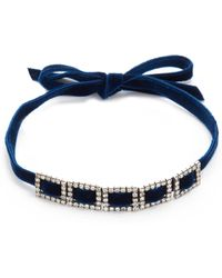 DANNIJO - Crawford Choker Necklace - Lyst