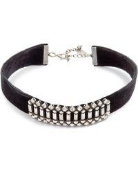 DANNIJO - Wren Choker Necklace - Lyst