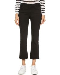 Alexander Wang - Trap Flex Cropped Stretch Bootcut Jeans - Lyst