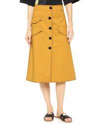 Edition10 - A-line Skirt - Lyst