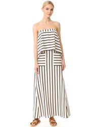 Goen.J - Striped Dress - Lyst
