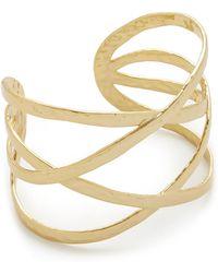 Gorjana - Keaton Cuff Bracelet - Lyst