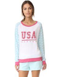 Honeydew Intimates - Usa Sweatshirt - Lyst