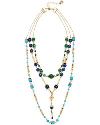 House of Harlow 1960 - Cairo Layered Statement Necklace - Lyst