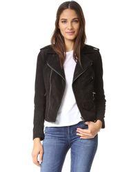 June - Vintage Moto Jacket - Lyst