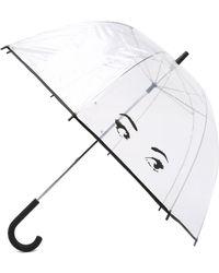 Kate Spade - Eyes Umbrella - Lyst