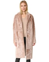 Kaufman Franco - Shearling Coat - Lyst