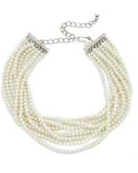 Kenneth Jay Lane - Layered Choker Necklace - Lyst