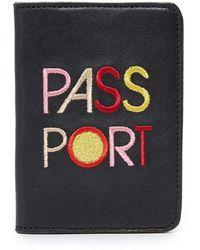 """Lizzie Fortunato - """"passport"""" Passport Case - Lyst"""