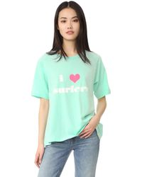 Lolli - I Love Surfers Tee - Lyst