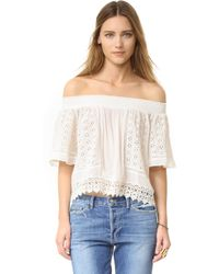 Lovers + Friends - Seamist Top - Lyst