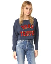 Lovers + Friends - Roadtrippin Cutoff Pullover - Lyst