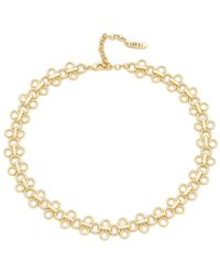 Luv Aj | The Lace Link Choker Necklace | Lyst