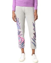 Mara Hoffman - Embroidered Joggers - Lyst