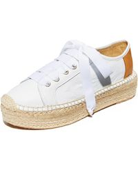 Matt Bernson - Eze Leather Espadrille Sneakers - Lyst