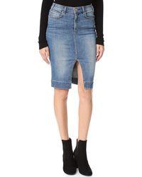 McGuire Denim - Vintage Marino Skirt - Lyst