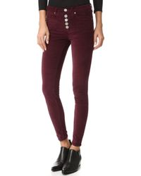 McGuire Denim - Newton Skinny Pants With Exposed Button Fly - Lyst