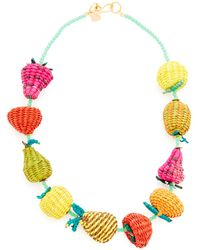 Mercedes Salazar - Fruits And Beads Necklace - Lyst