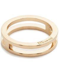 Miansai - Split Layer Ring - Lyst