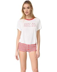 MINKPINK - Wake Me Later Pajama Set - Lyst