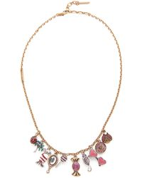 Marc Jacobs - Charms Poolside Statement Necklace - Lyst