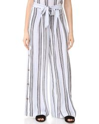 Re:named - High Waist Trousers - Lyst