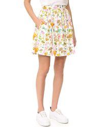 Olympia Le-Tan - Gorilla Glue Flared Skirt - Lyst