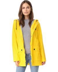 Petit Bateau - Button Up Raincoat - Lyst