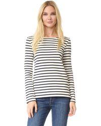 Petit Bateau - Hannah Long Sleeve Stripe Tee - Lyst