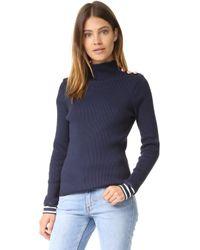 Petit Bateau - Turtleneck Sweater - Lyst