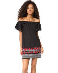 Piper - Ruffle Tassel Dress - Lyst