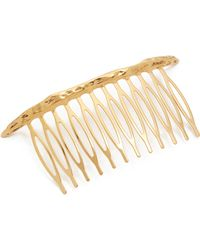 Pluie - Naked Crescent Comb - Lyst