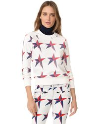 Perfect Moment | Star Print Sweatshirt | Lyst