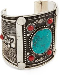 Raga - Aztec Wide Bracelet - Lyst
