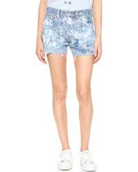 Rialto Jean Project - Cutoff Shorts - Lyst