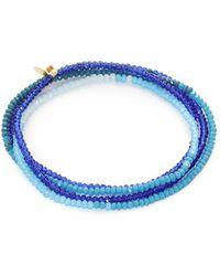 Shashi - Ombre Wrap Bracelet - Lyst