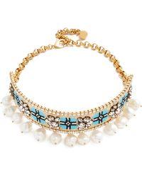 Shourouk - Bastet Large Choker Necklace - Lyst