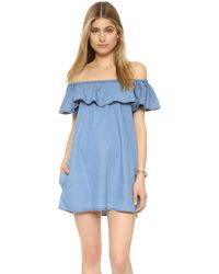 Sincerely Jules - Fiona Bardot Dress - Lyst