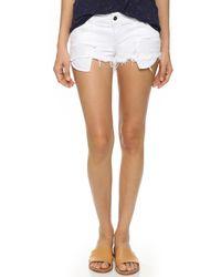 Siwy - Madeline Cutoff Shorts - Lyst