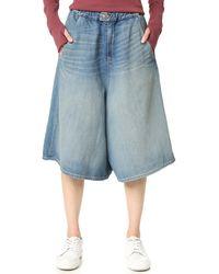 6397 - Denim Shorts - Lyst