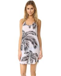Surf Bazaar - Palm Print Muscle Tunic - Lyst
