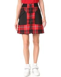 Tim Coppens - Ma-1 Skirt - Lyst