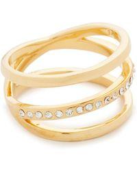 Vita Fede - Helix Crystal Ring - Lyst