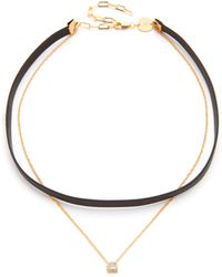 Jennifer Zeuner - Lottie Choker Necklace - Lyst