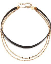 Jennifer Zeuner - Quinn Choker Necklace - Lyst