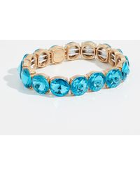 BaubleBar - Large Crystal Statement Bracelet - Lyst