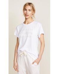 Wildfox | Let's Stay In Manchester Tee | Lyst