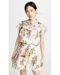 Parker - Acadia Combo Dress - Lyst