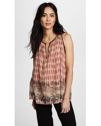 Forte Forte - Printed Voile Top - Lyst