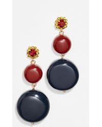 Marni - Circle Linear Drop Earrings - Lyst